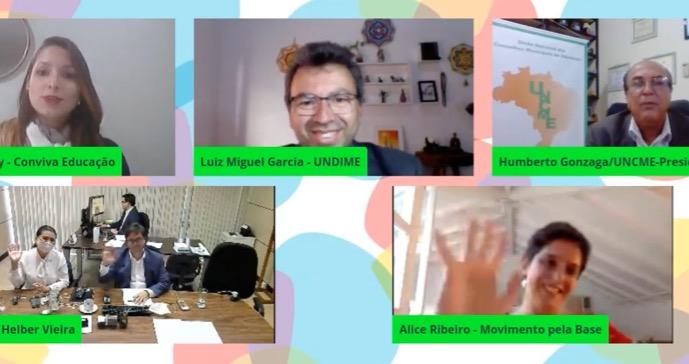 Destaques da videoconferência do Conviva sobre BNCC