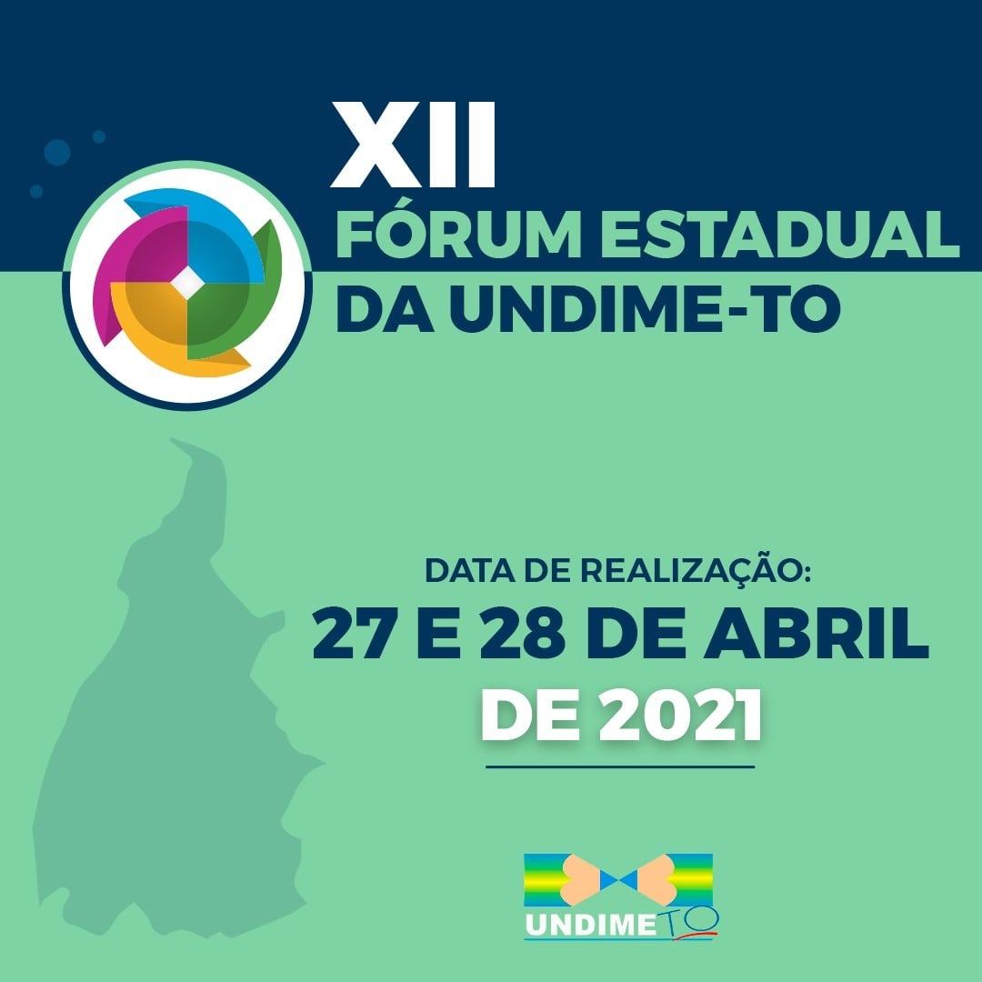 Undime Tocantins realizará eleição e posse da nova Diretoria Executiva no XII Fórum Estadual