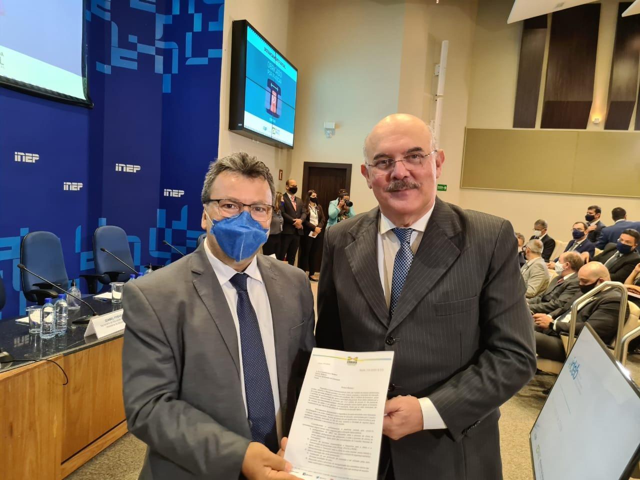A Undime fez uma solicitação formal ao Ministro da Educação, Milton Ribeiro, para que fosse articulado junto ao Ministério da Saúde a garantia de vacinação da comunidade escolar