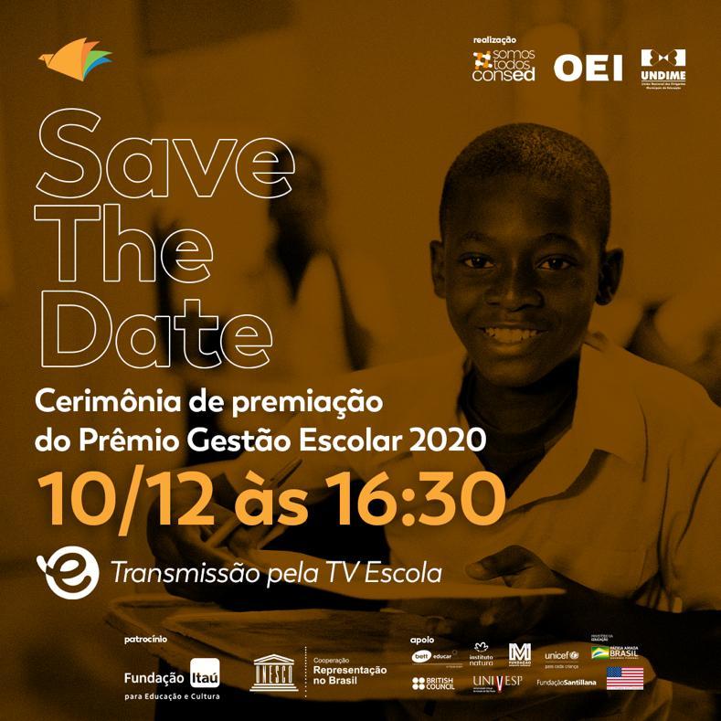 Cinco escolas públicas disputam Prêmio de Gestão Escolar com ações durante a pandemia