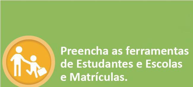 Importe os dados do Censo Escolar e preencha a ferramenta de Estudantes no Conviva