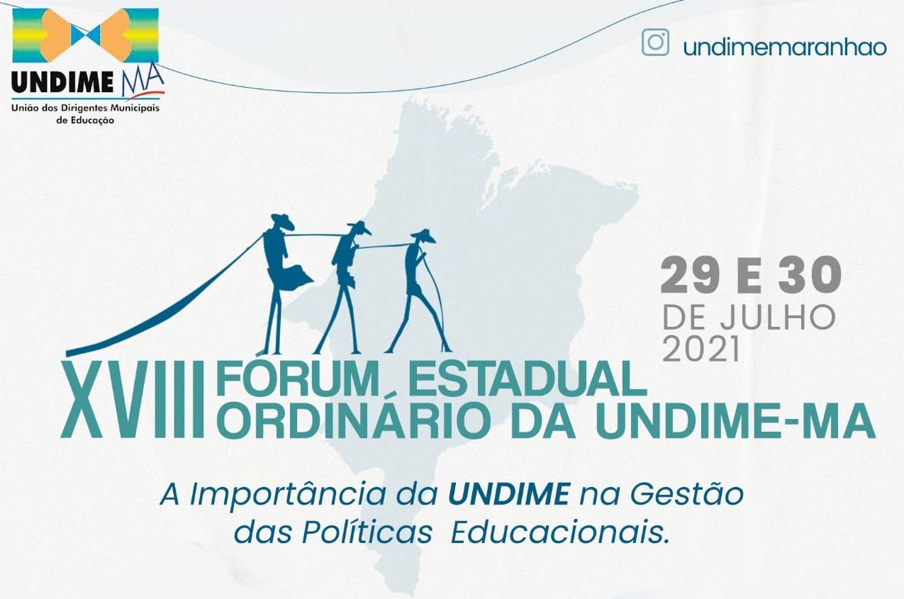 Undime Maranhão realiza 18º Fórum Estadual