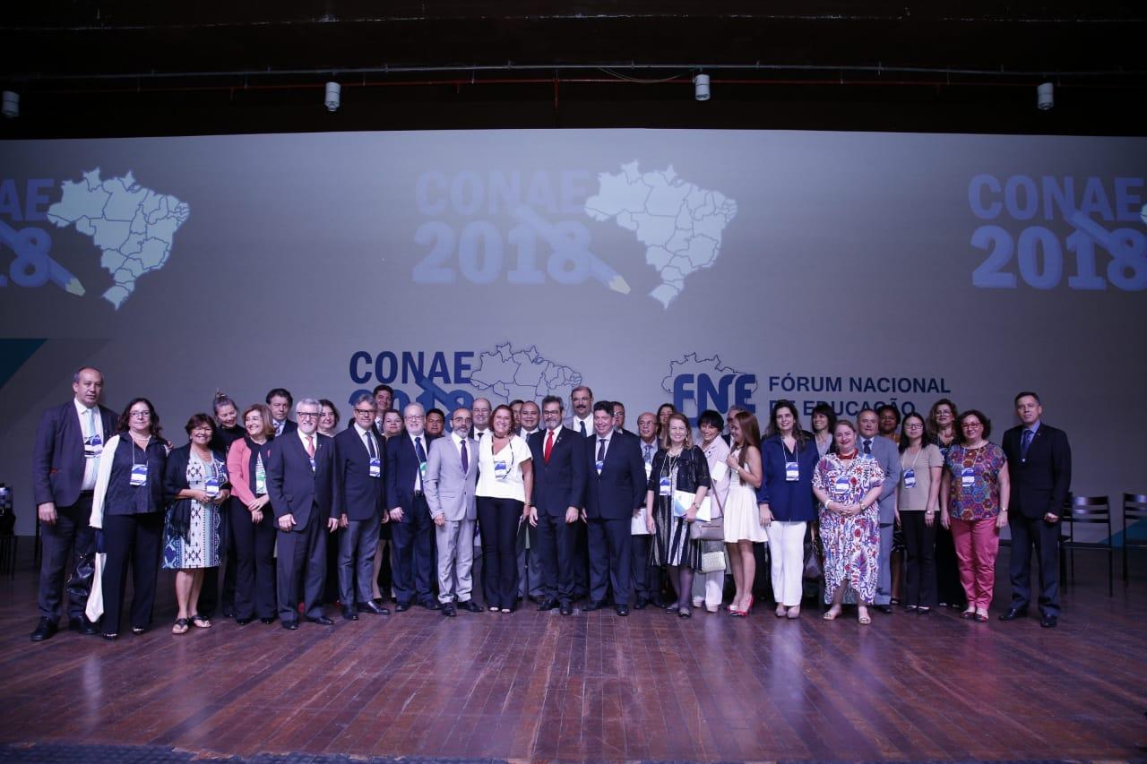 Undime participa da abertura da Conae 2018