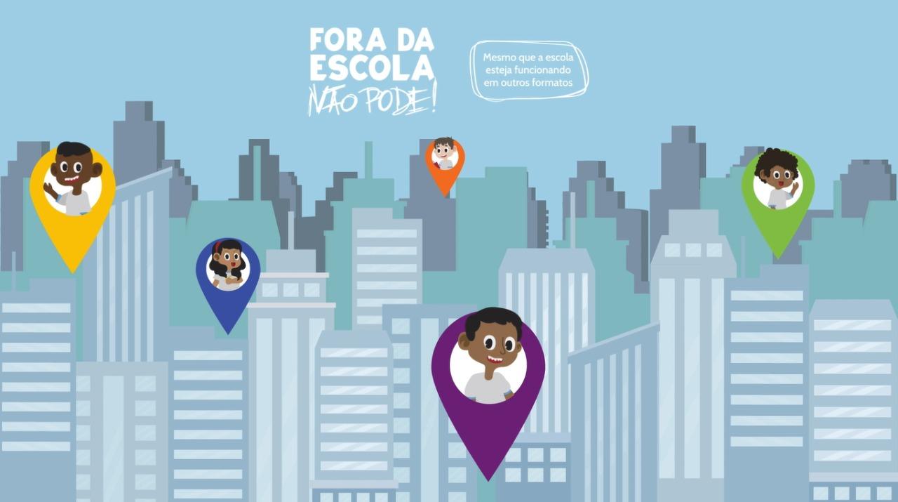 Conheça o video-jingle da campanha Fora da Escola Não Pode!