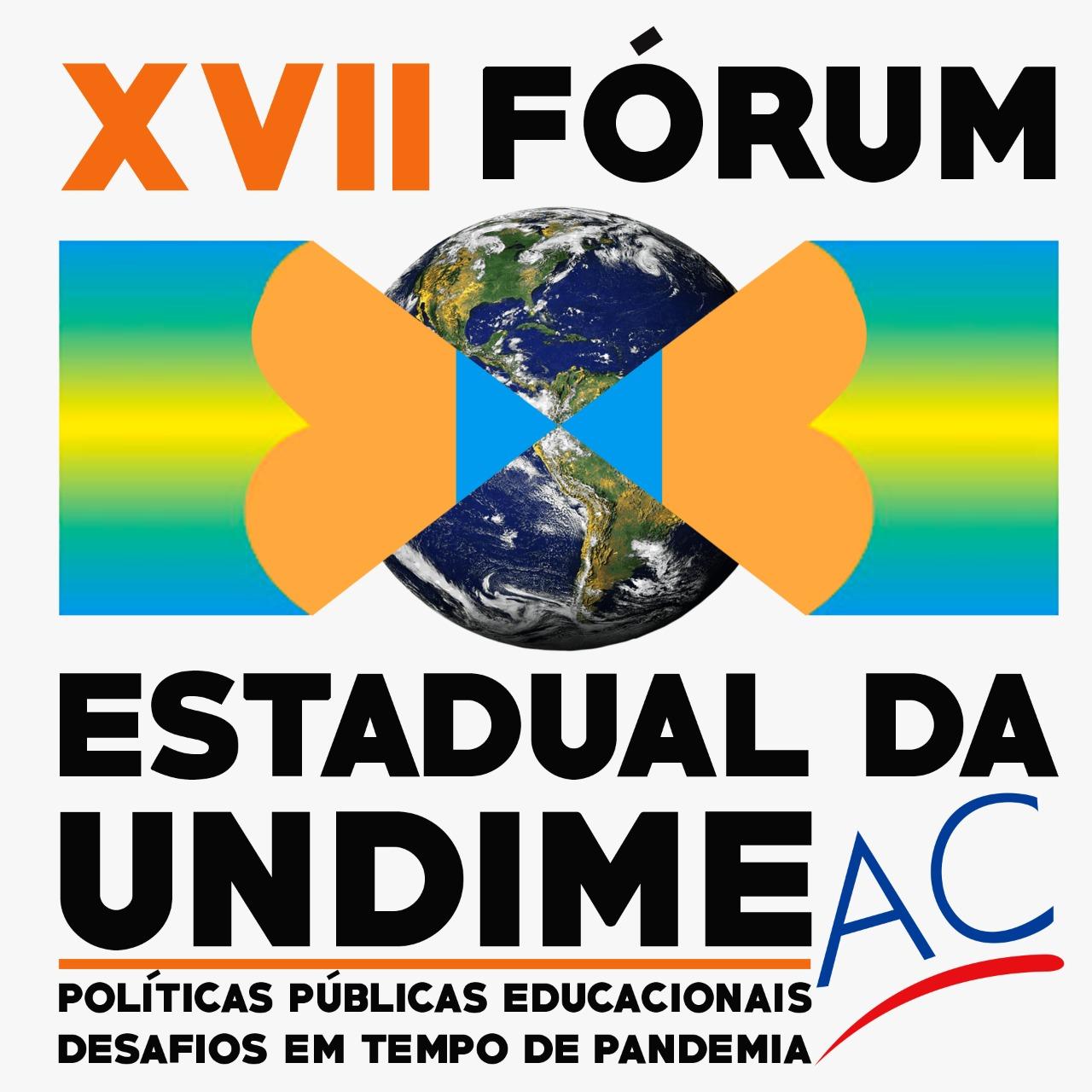 Fórum da Undime Acre debate políticas públicas educacionais em tempos de pandemia