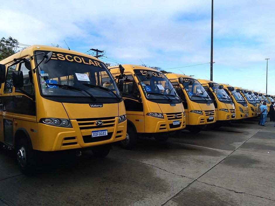 FNDE disponibiliza novas atas de registro de preços de ônibus escolares
