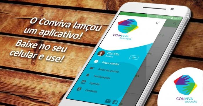 Conviva Educação lança aplicativo gratuito para celular