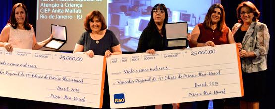 Prêmio Itaú-Unicef Conheça os vencedores da regional Rio de Janeiro
