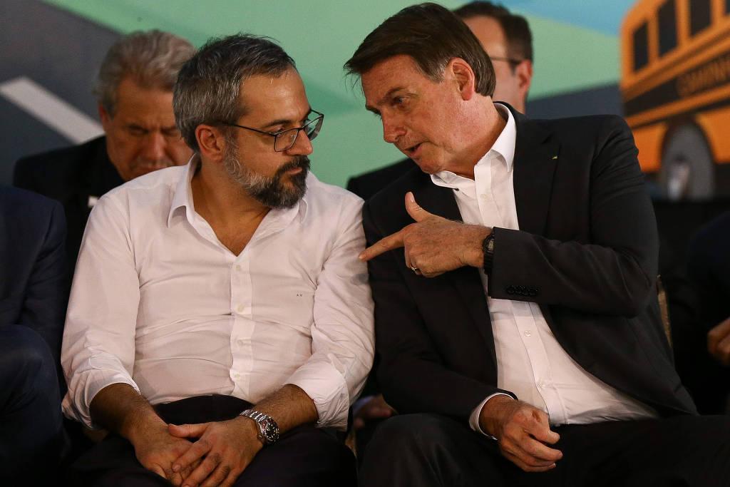 Weintraub divulga compras de prefeituras como ações do governo Bolsonaro