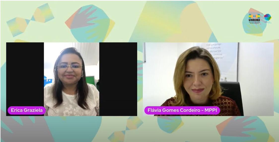 Webconferência Undime em Ação - na sua casa traz orientações sobre o retorno das aulas presenciais nas redes municipais de ensino do Piauí