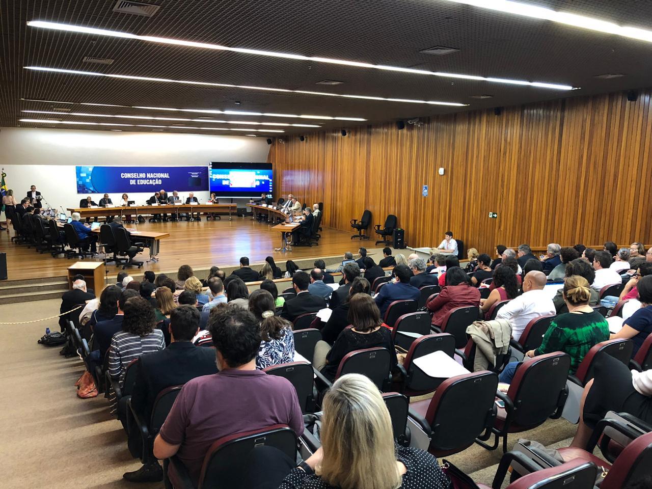 Diretrizes Curriculares Nacionais e Base da formação docente é tema de audiência pública no CNE