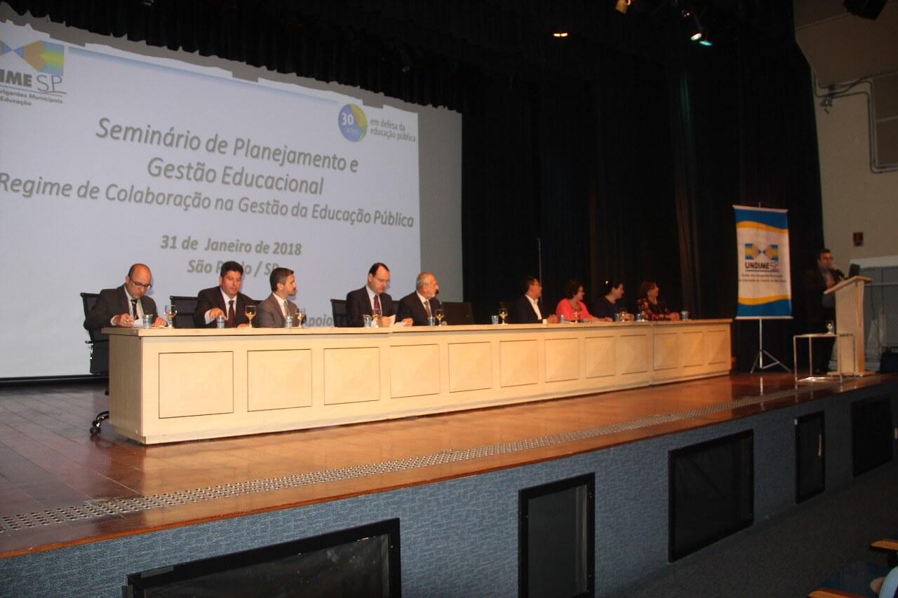 Undime SP debate regime de colaboração na gestão da educação pública