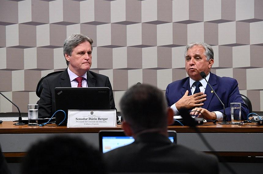 No Senado, Comissão de Educação debate transferência da cota federal do salário-educação a estado e município
