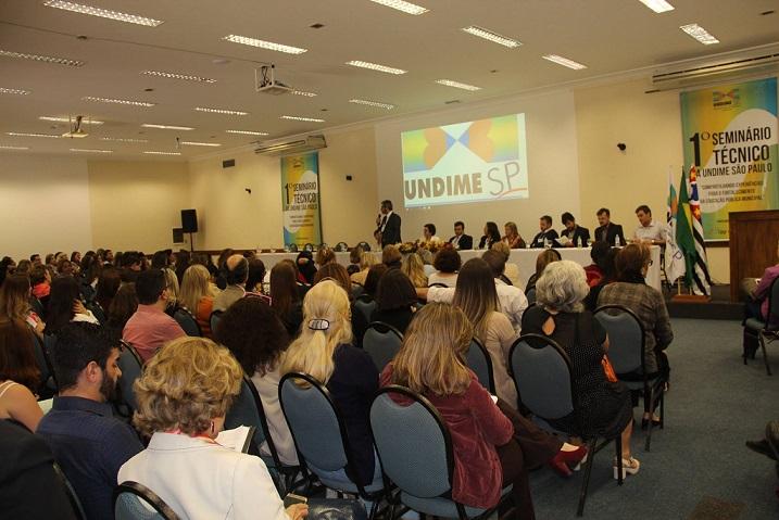"""Undime SP promove seminário técnico a partir do tema """"Compartilhando experiências para o fortalecimento da educação pública municipal"""""""