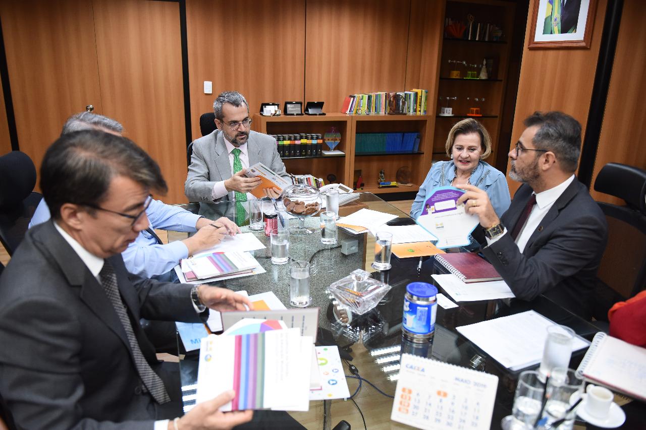 Undime e Consed se reúnem com novo ministro da Educação