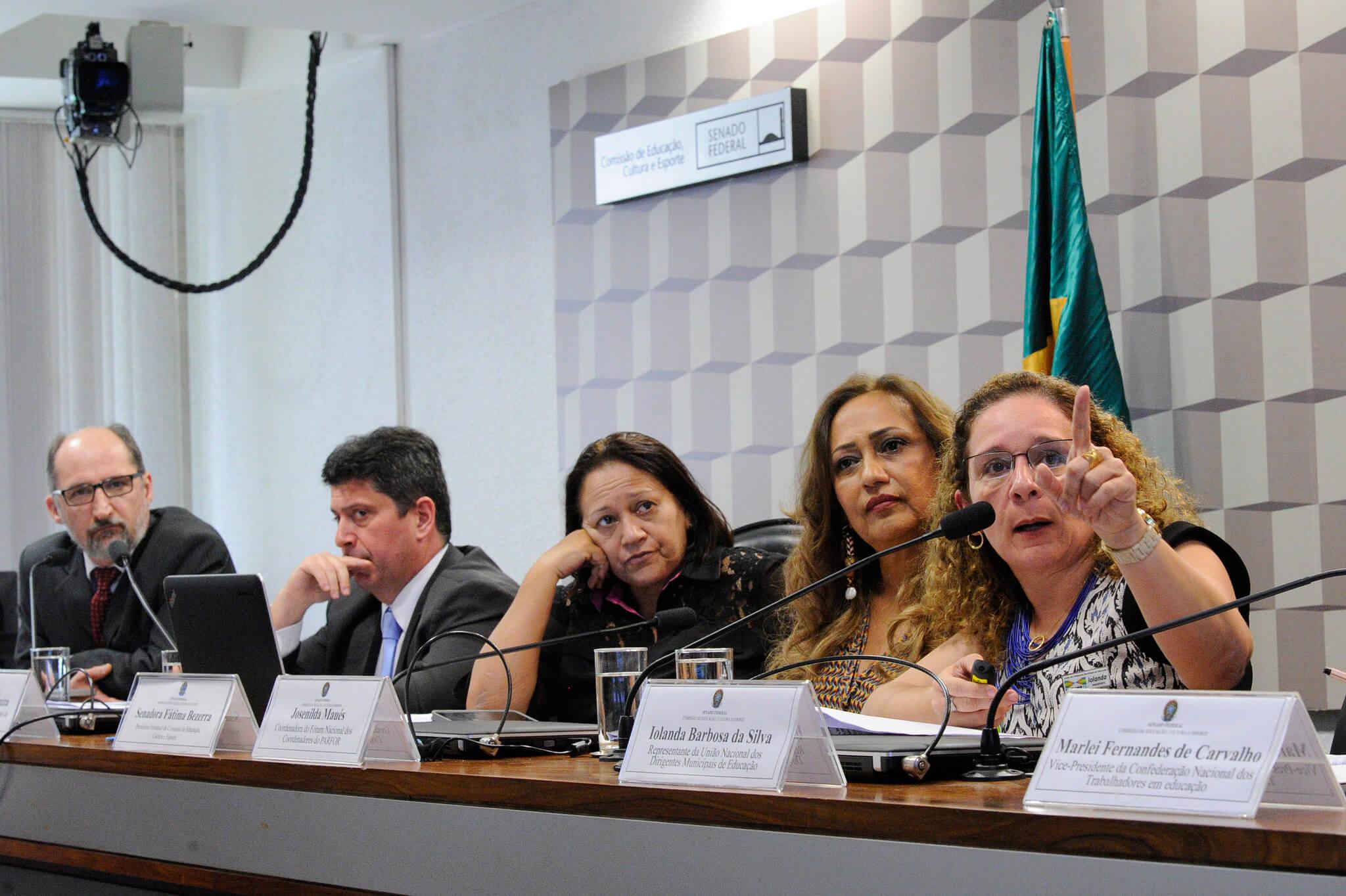 Em audiência no Senado, diretor da Capes garante continuidade do Parfor