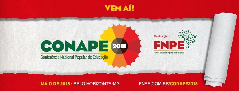 Conferência Nacional Popular de Educação será realizada de 24 a 26 de maio, em Belo Horizonte