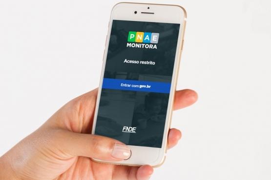 Aplicativo Pnae Monitora já está disponível nas versões Android e iOS