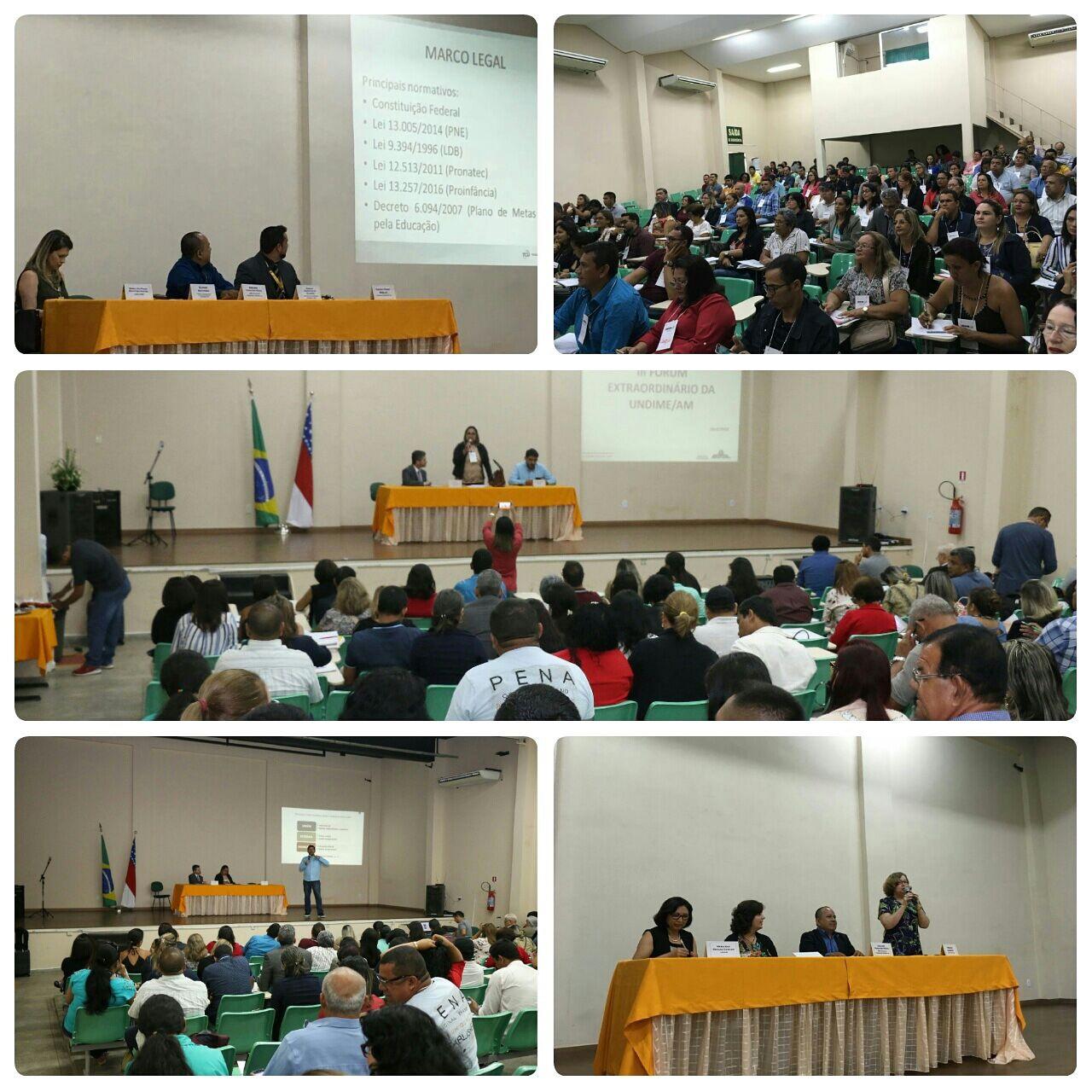 Amazonas e Rio de Janeiro promovem fóruns estaduais