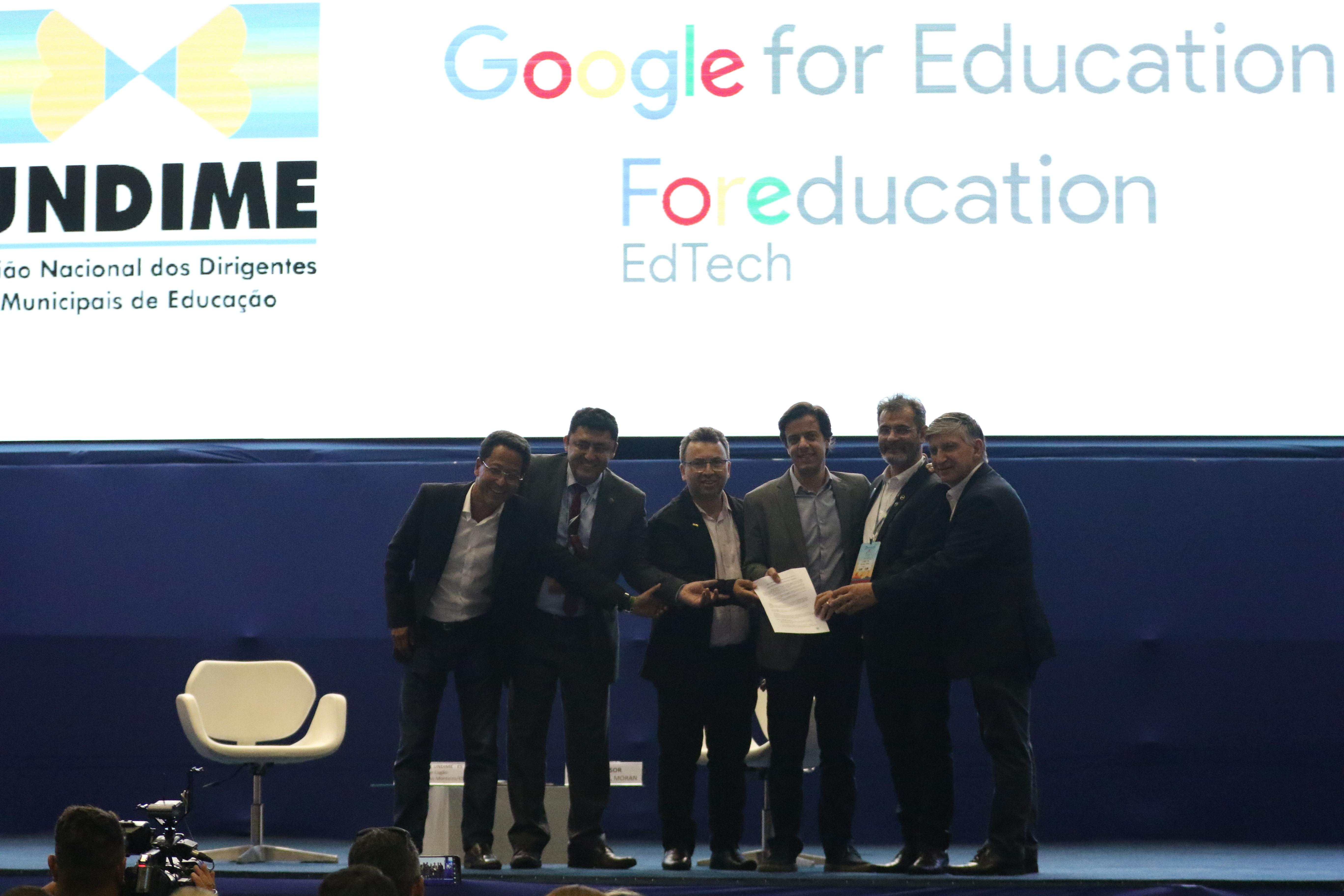 Com aliança inédita, Google for Education e Undime anunciam estudo sobre educação pública