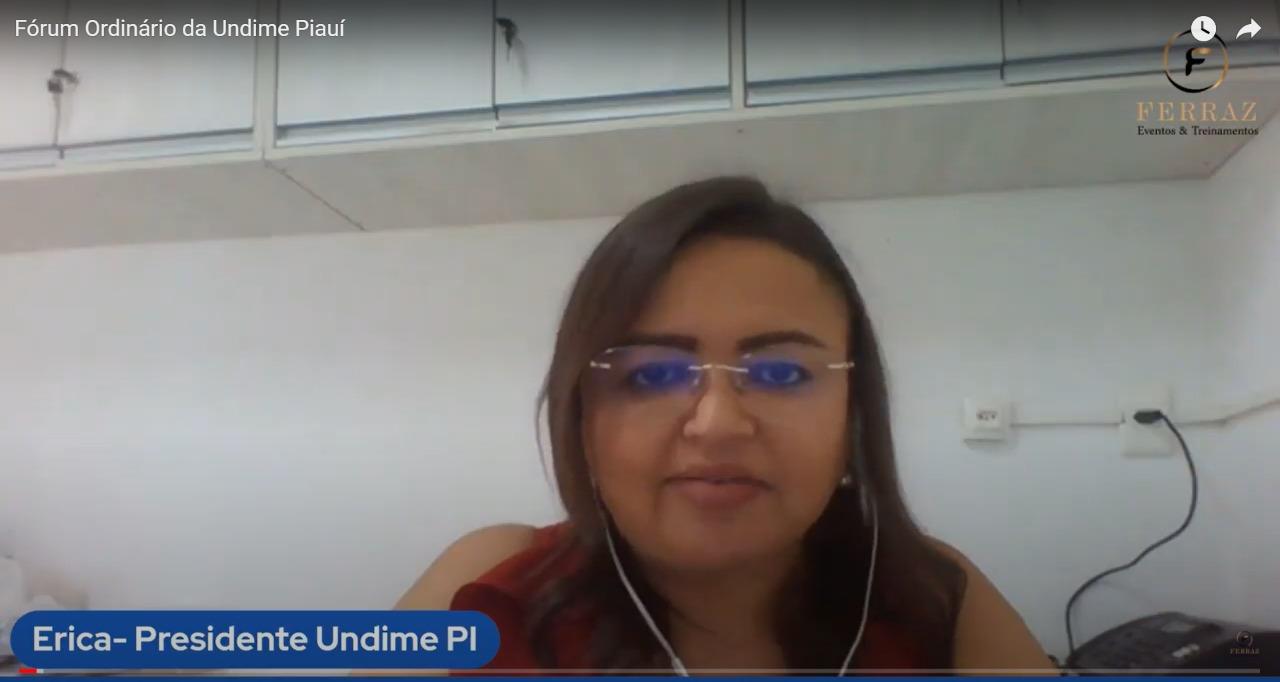 Debate sobre educação pública de qualidade no contexto atual movimenta primeiro dia de Fórum Virtual da Undime-PI