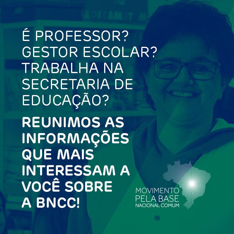 Site reúne informações gratuitas para auxiliar a implantação da BNCC