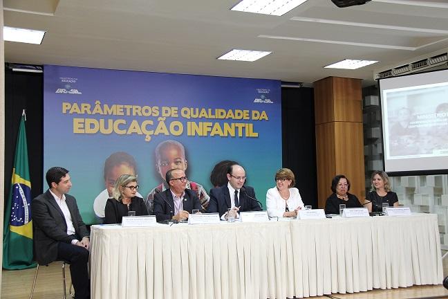 Undime participa de lançamento do Documento de Parâmetros para a Educação Infantil