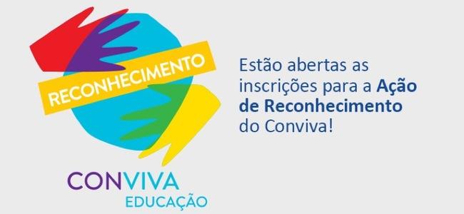 Estão abertas as inscrições para a 4ª Ação de Reconhecimento do Conviva!