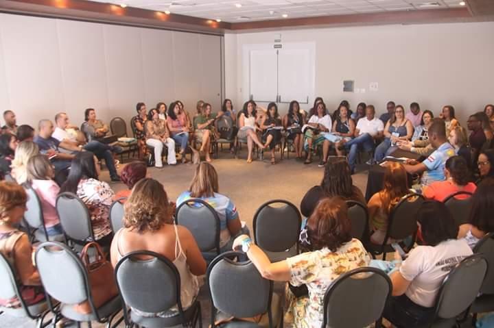 Estado da Bahia discute com secretários municipais sobre regime de colaboração durante o 17º Fórum da Undime