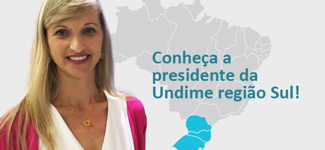 Conheça Patrícia Lueders, a presidente da Undime Região Sul