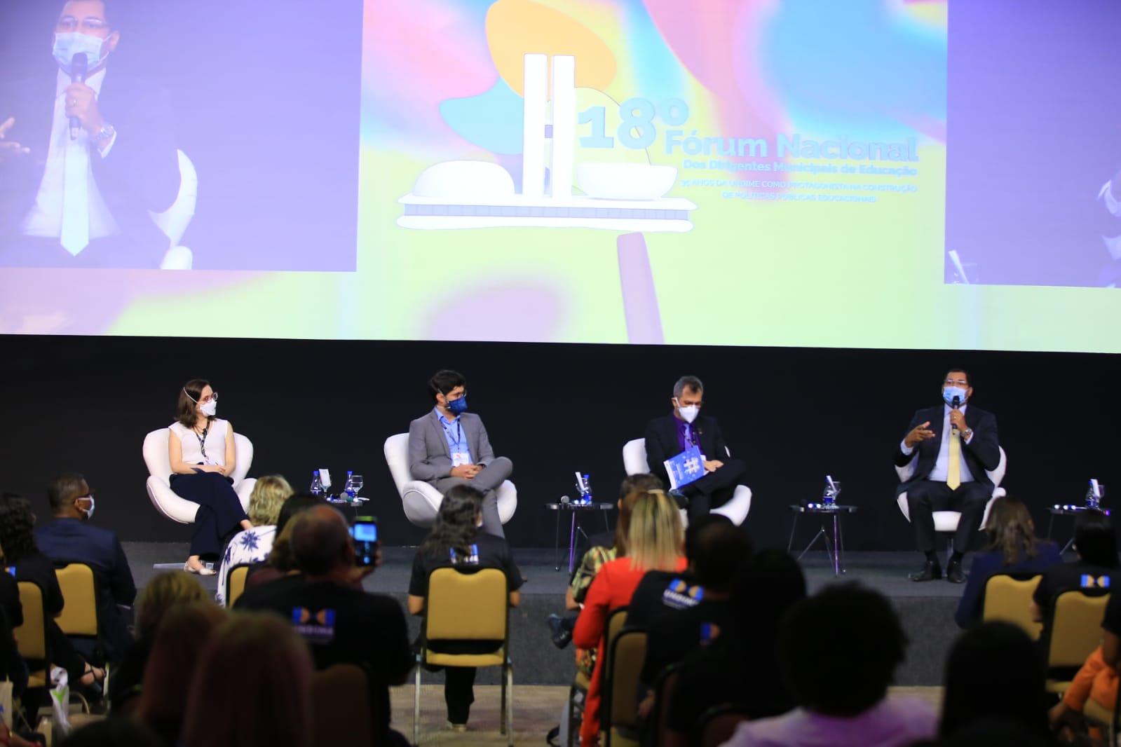 Especialistas debatem sobre o novo Fundeb no 18º Fórum Nacional da Undime