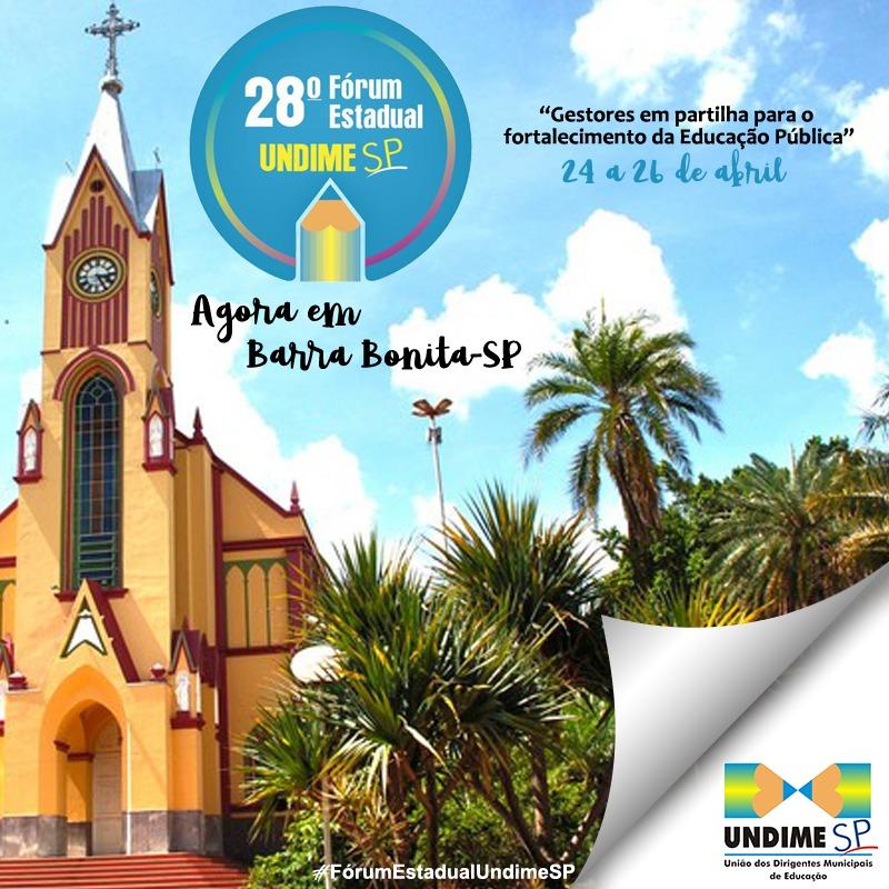 Fórum da Undime São Paulo será realizado de 24 a 26 de abril