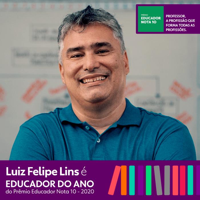 Prêmio Educador Nota 10 revela vencedor da edição de 2020