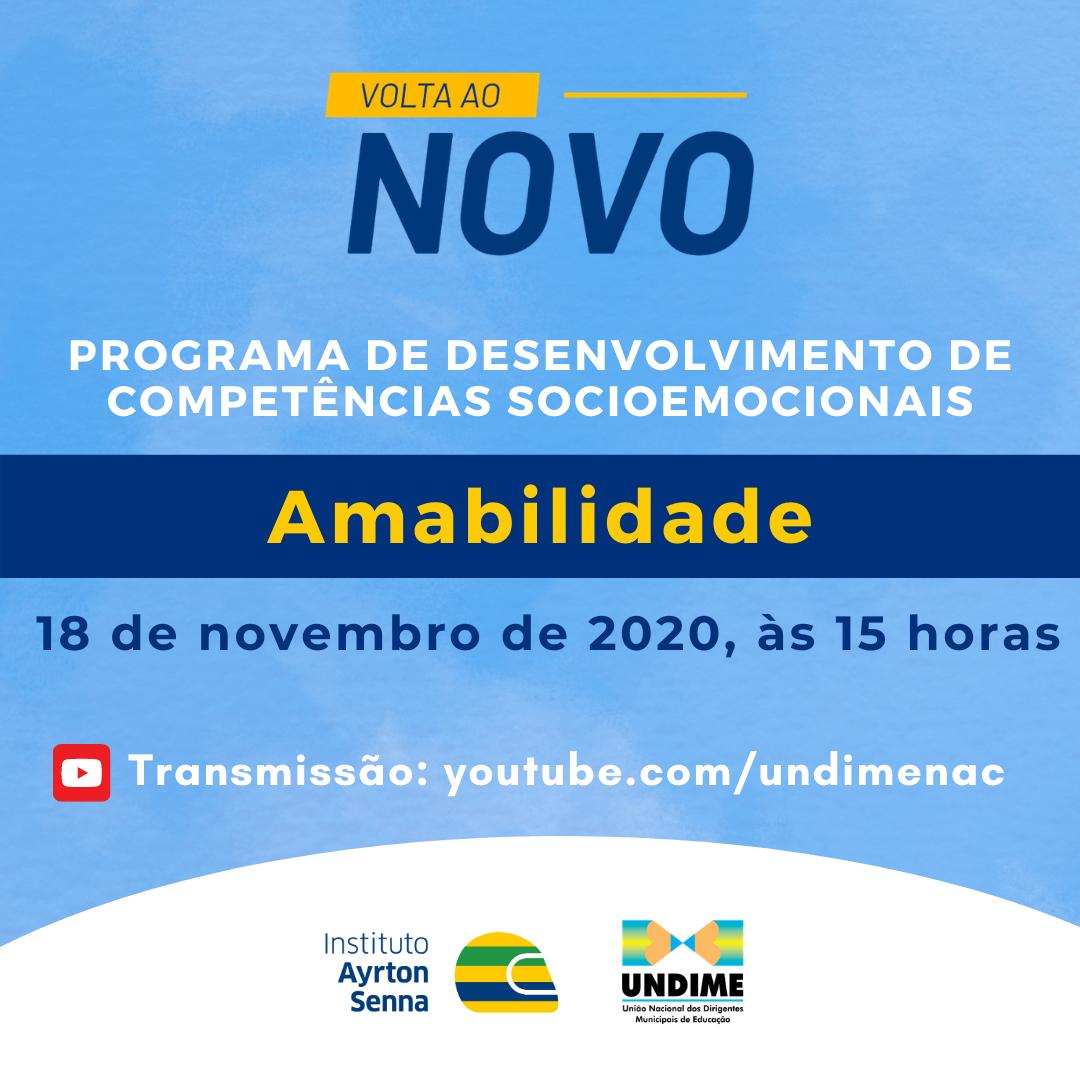 """""""Volta ao Novo"""": Instituto Ayrton Senna e Undime realizam o quarto encontro da série sobre competências socioemocionais"""