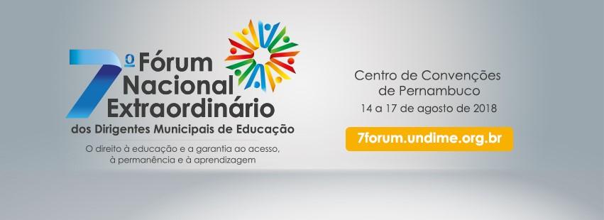 Undime discute sobre cenário educacional, em Recife, entre os dias 14 e 17 de agosto
