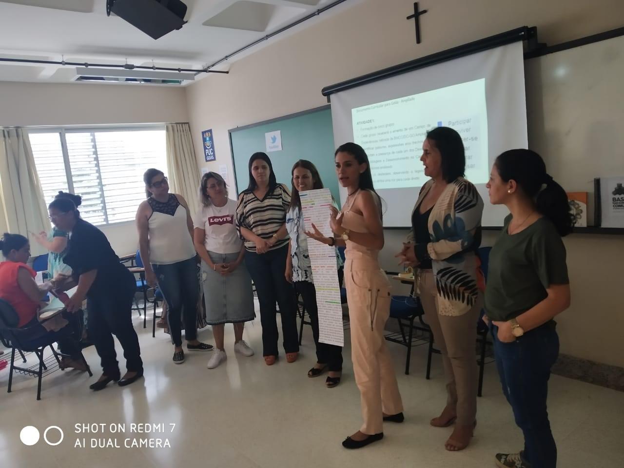 Goiás realiza segundo módulo da formação sobre o documento curricular
