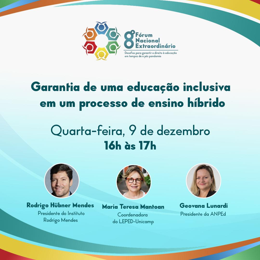 Undime debate a garantia de uma educação inclusiva em um processo de ensino híbrido