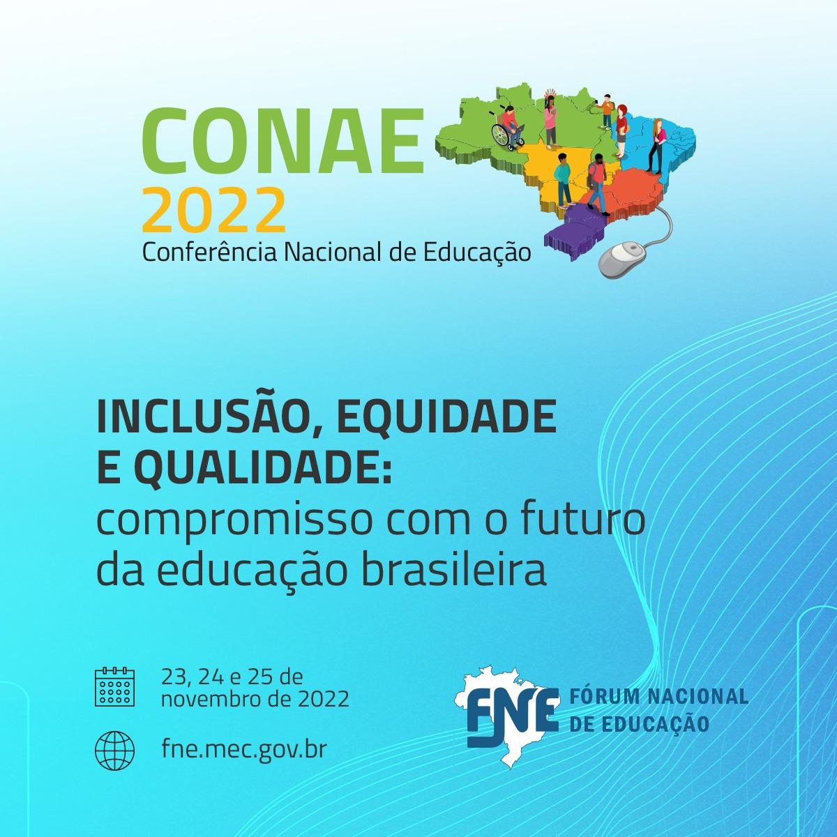 Fórum Nacional de Educação aprova documentos para realização da Conae 2022