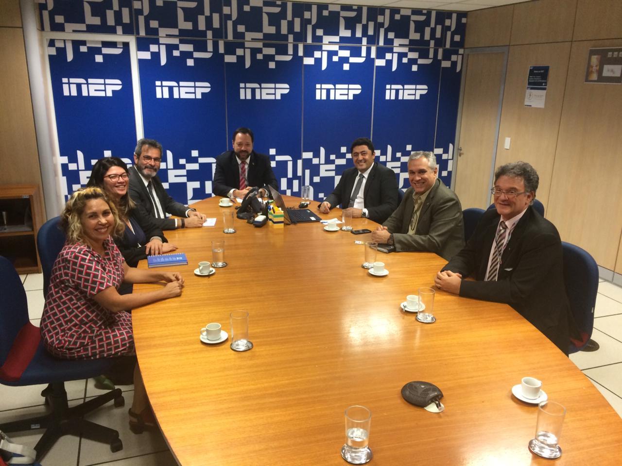 Inep debate com Undime propostas para o novo Saeb