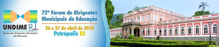 Undime Rio de Janeiro realizará fórum estadual nos dias 26 e 27 de abril