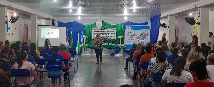 Amazonas organiza jornadas pedagógicas nos municípios