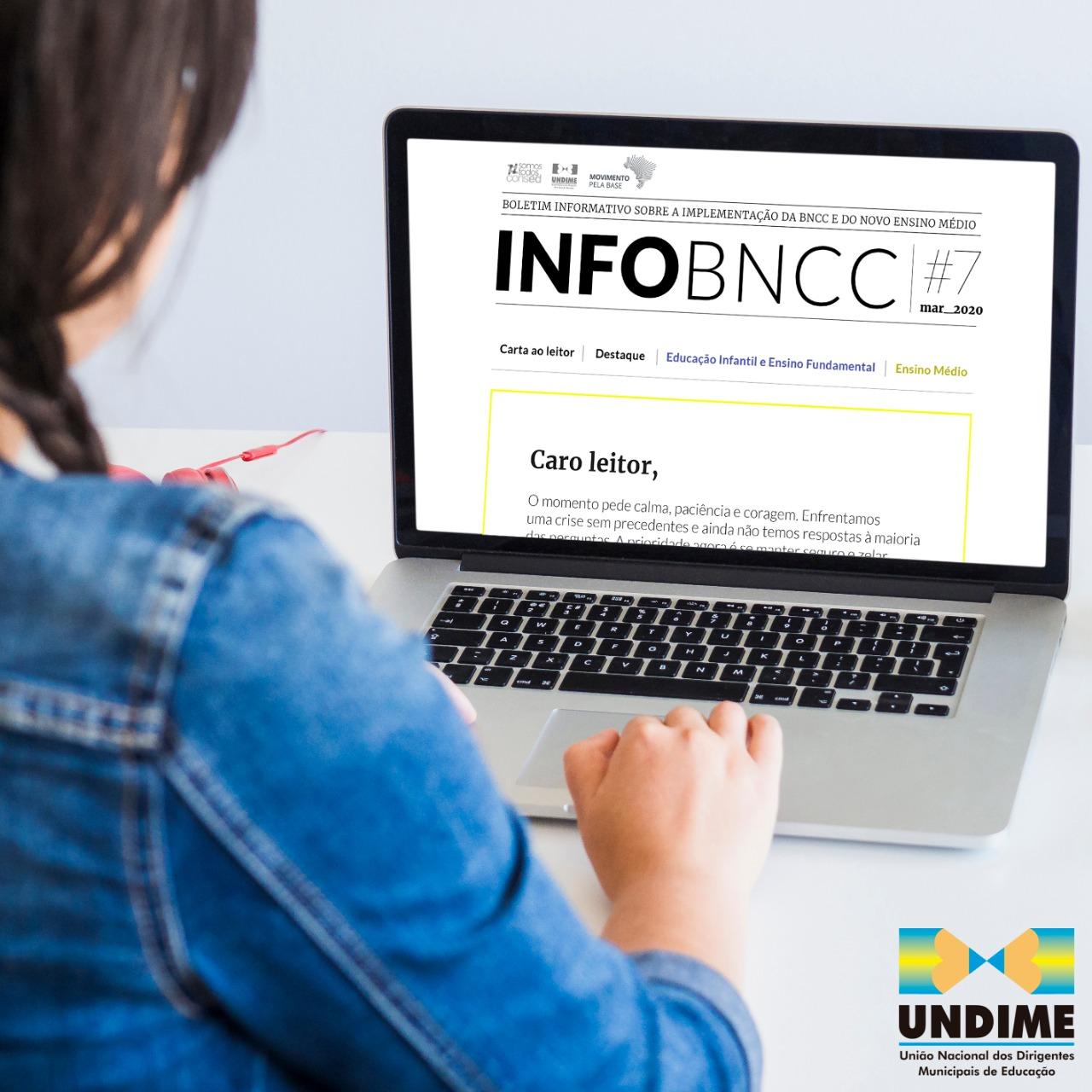 Divulgada a 7ª edição do boletim InfoBNCC