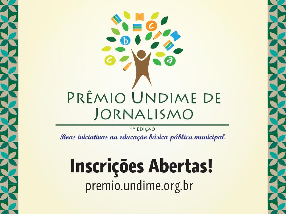 Undime lança prêmio de jornalismo para valorizar escola pública