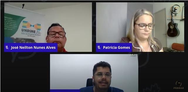 Undime Alagoas realiza Jornada Pedagógica online com a participação de mais de 3 mil profissionais da Educação
