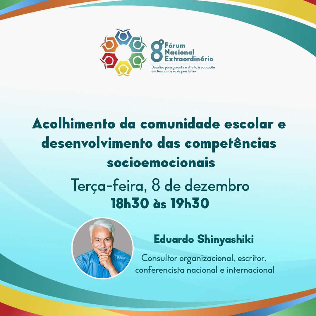 Acolhimento da comunidade escolar e desenvolvimento das competências socioemocionais é tema de mesa no 8º Fórum Nacional Extraordinário da Undime