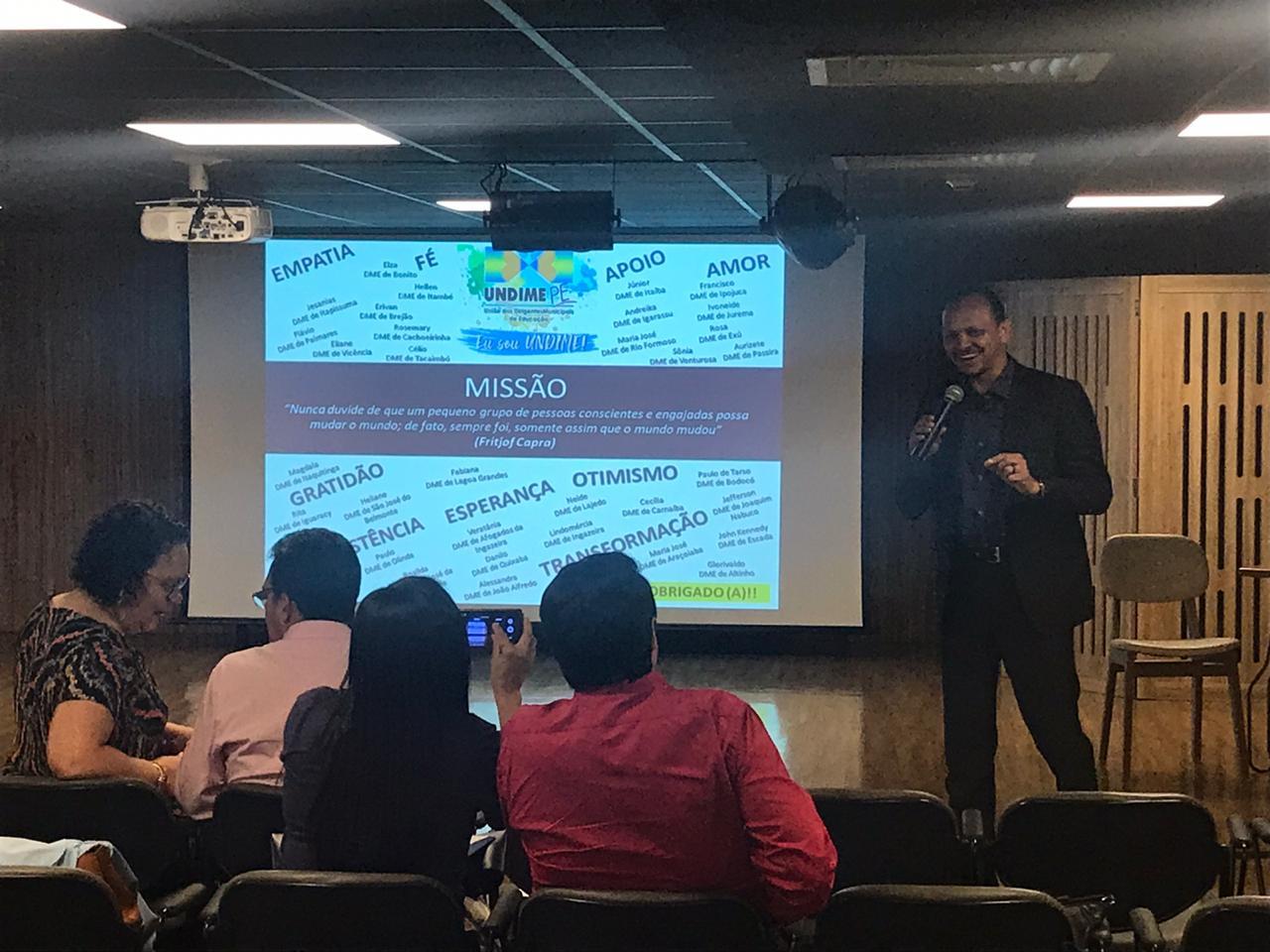 Undime Pernambuco promove última reunião da Seccional em 2019