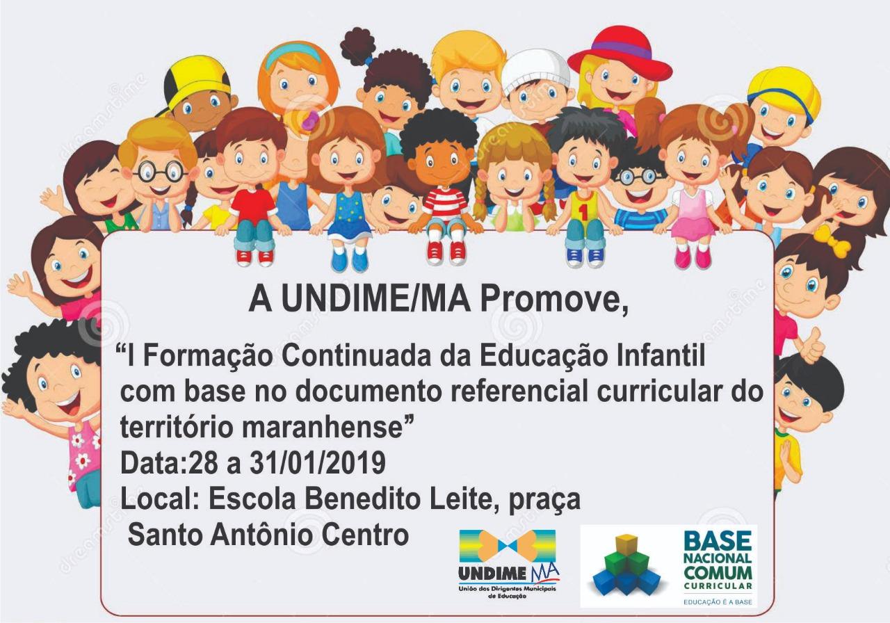 Undime Maranhão promove formação voltada a professores da educação infantil