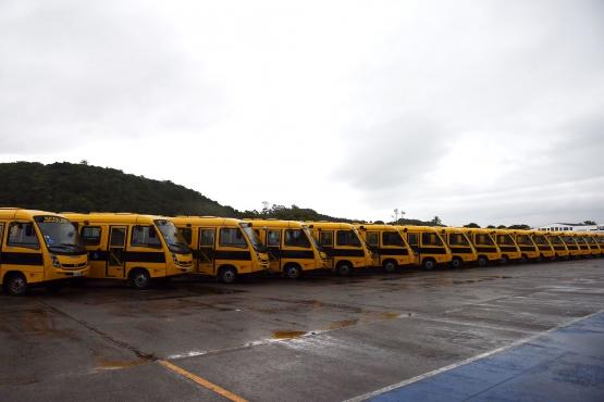 MEC e FNDE viabilizam compra de 6,2 mil novos ônibus escolares