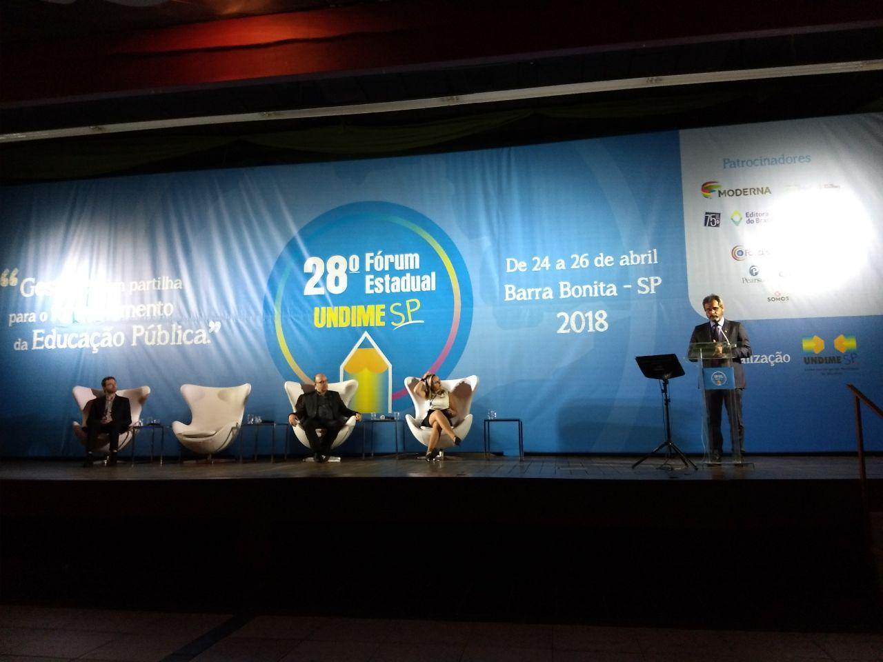 28ª edição do Fórum da Undime São Paulo reúne 300 municípios e pauta regime de colaboração