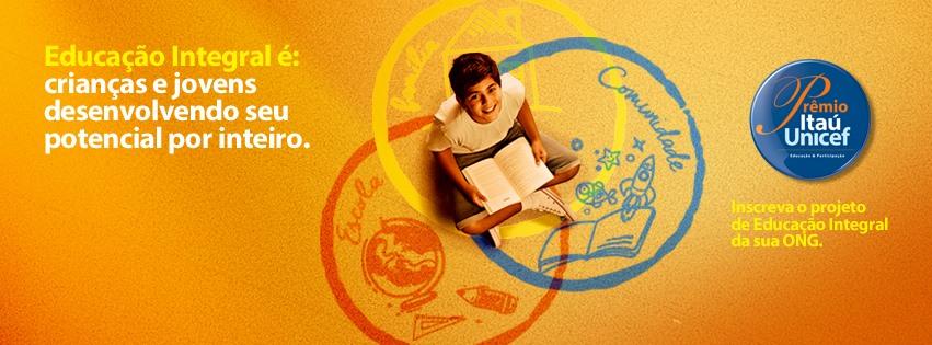 Prêmio Itáu-Unicef: inscrições vão até 4 de maio
